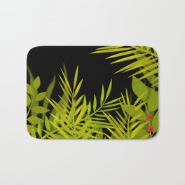 The leaves and berries. Bath Mat