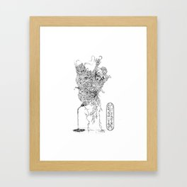 Fifth For Those Past (Bare Necessities) Framed Art Print