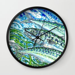 Everyday Animal - Scomber Scombrus Wall Clock