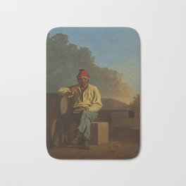 George Caleb Bingham - Mississippi Boatman Bath Mat