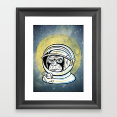 Space Ape Framed Art Print