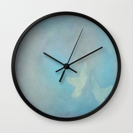 When Doves Fly Wall Clock