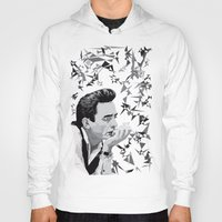 johnny cash Hoodies featuring Johnny Cash by Iany Trisuzzi