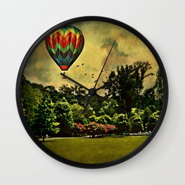 Afternoon at the Park Wall Clock