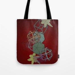 Geo Platonicus Tote Bag