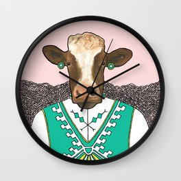 Liselott the Cow Wall Clock
