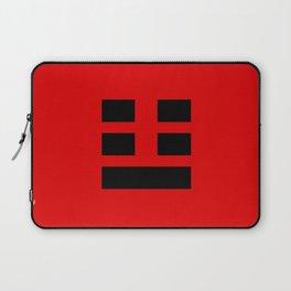 I Ching Yi jing - symbol of Zhèn 震 Laptop Sleeve