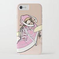 sneaker iPhone & iPod Cases featuring Sneaker ridin' by catamariii