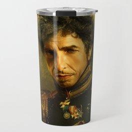 Bob Dylan - replaceface Travel Mug