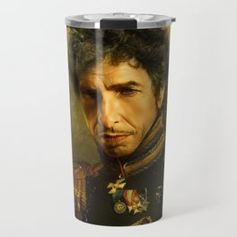 Bob Dylan - replaceface Travel Mug