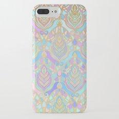 Jade & Blue Enamel Art Deco Pattern Slim Case iPhone 7 Plus