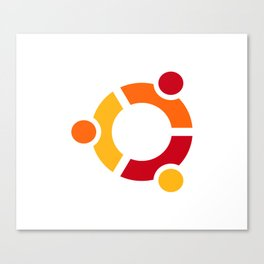 Ubuntu Linux Canvas Print