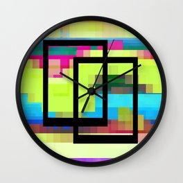 Time and Place Wall Clock