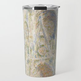Rouen Cathedral, West Façade, Sunlight Travel Mug