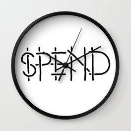 SPEND Wall Clock