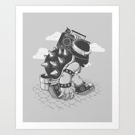 Original Bboy Art Print