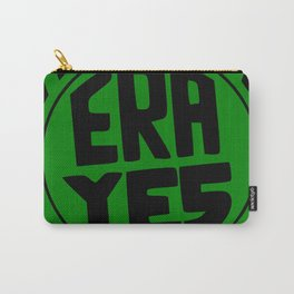 ERA YES - Green and Black Carry-All Pouch