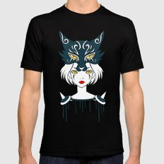 Wolf Tribe Mens Fitted Tee Black X-LARGE