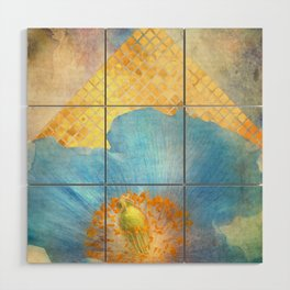 Sky Poppy Wood Wall Art