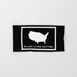 Black Lives Matter America Hand & Bath Towel