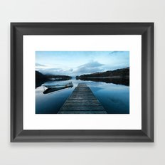 Coniston Jetty Framed Art Print