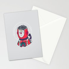 Space On The Brain Stationery Cards