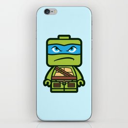 Chibi Leonardo Ninja Turtle iPhone Skin