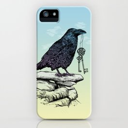 Raven's Keys iPhone Case