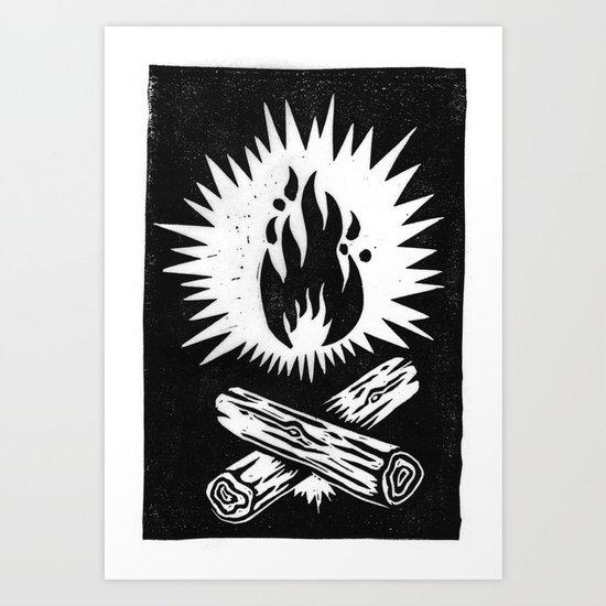 overnight Art Print