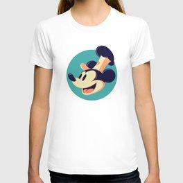 """The Captain - Mickey Mouse"" by Matt Kehler T-shirt"