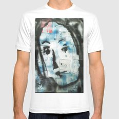 VENUSIAN FACE 4 (PUZZLED DISK VERSION) Mens Fitted Tee SMALL White
