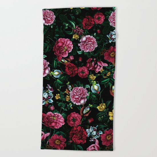 Botanical Garden IX Beach Towel