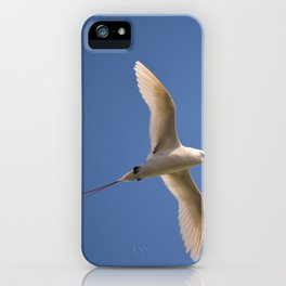 Red-tailed Tropicbird iPhone Case