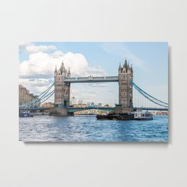 Tower Bridge, London, England Metal Print