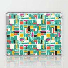 Turquoise Quilt Love Laptop & iPad Skin