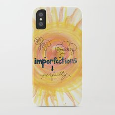 Imperfections iPhone X Slim Case