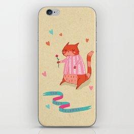 The Cat's Pyjamas iPhone Skin