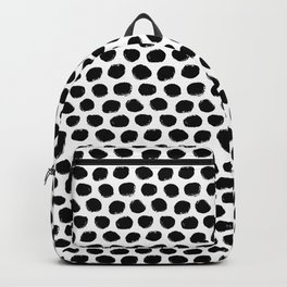 Beehive Black and White Backpack