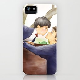 Kissing  iPhone Case