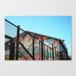 Streets of LA Canvas Print