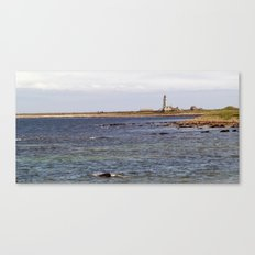 Start Point Lighthouse Canvas Print