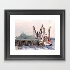 Mayport 3 of 3 Framed Art Print