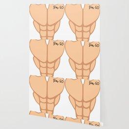 Six Pack I'm 50th Birthday Funny Men Wallpaper