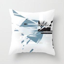 Badaboom! Throw Pillow