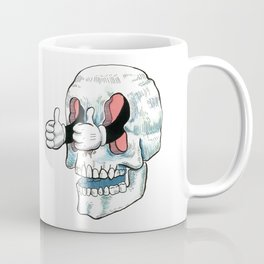 Great Job! Skull Coffee Mug