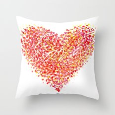 Love is Colorblind Throw Pillow