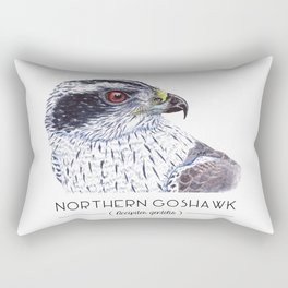 Northern Goshawk Rectangular Pillow