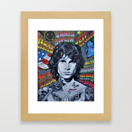YOUNG AMERICANS Framed Art Print
