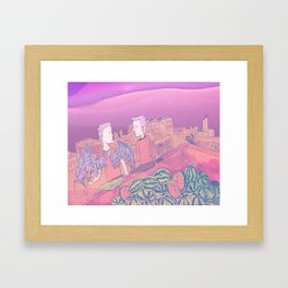 Urban Angel Framed Art Print