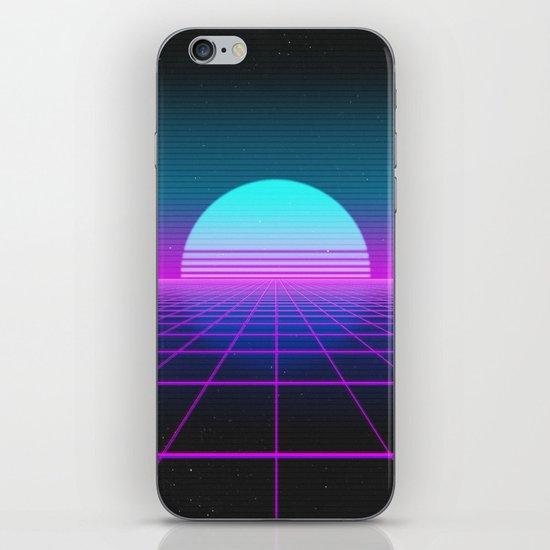 80's Retro Neon Grid by monolithdesign